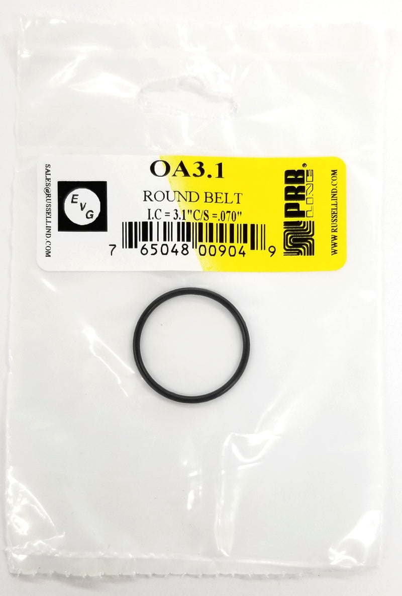 NEW PRB OA 3.1 Round Cut Belt for VCR, Cassette, CD Drive or DVD Drive OA3.1