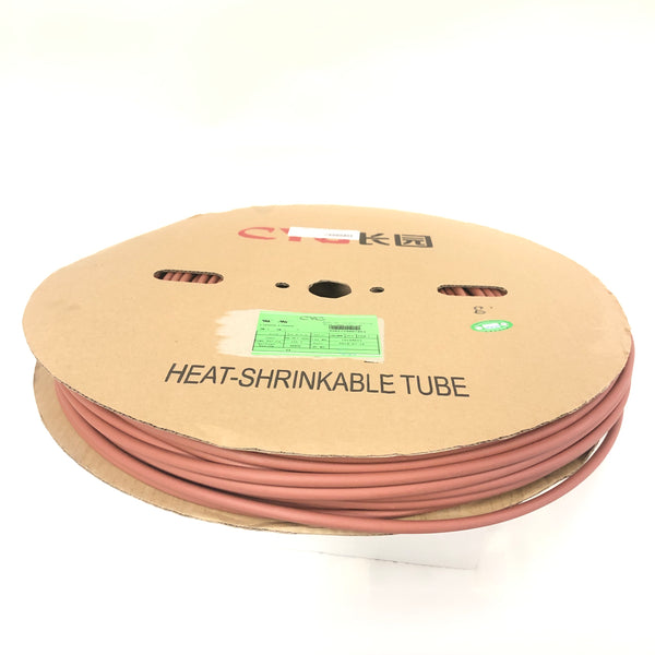 "Thermosleeve CYG HST14330, BROWN 1/4"" 2:1 Heat Shrink ~ 330 Foot Roll"