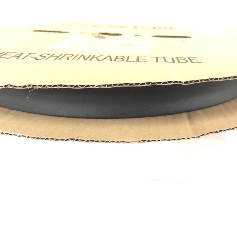 "Thermosleeve CYG HST34330, BLACK 3/4"" 2:1 Heat Shrink ~ 330 Foot Roll"
