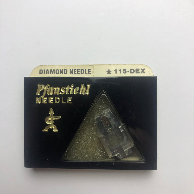 Pfanstiehl 115-DEX Diamond Elliptical Needle for ADC XT Series III Cartridge