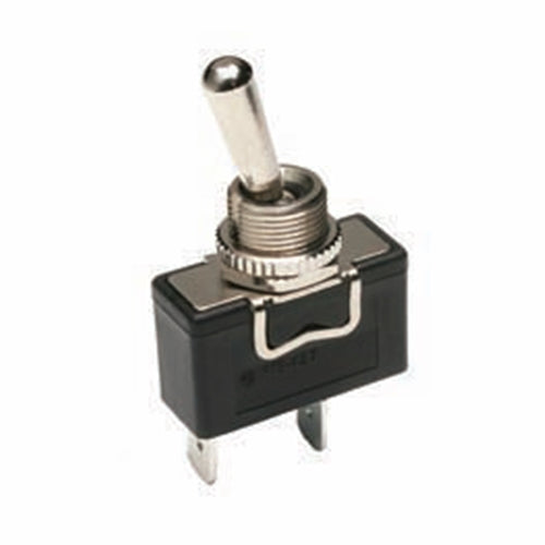 NTE 54-354W SPST ON-OFF 20A @ 277V AC, 1HP Waterproof Toggle Switch