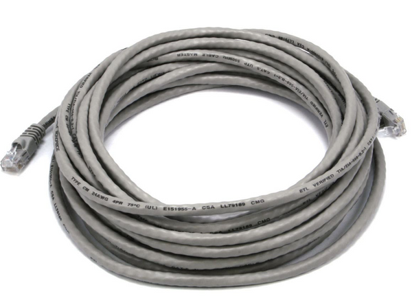 Cat 5 Enhanced 7' Gray Molded C5EPCGY7