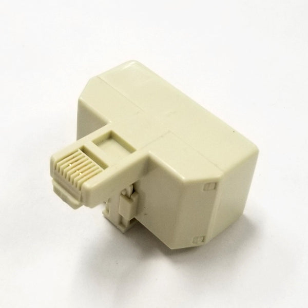 Philmore TEC298 8 Conductor RJ45, Single Male to Dual Female Modular Telephone Adapter