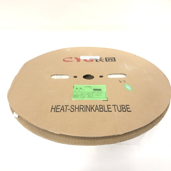 "Thermosleeve CYG HST12330, WHITE 1/2"" 2:1 Heat Shrink ~ 330 Foot Roll"