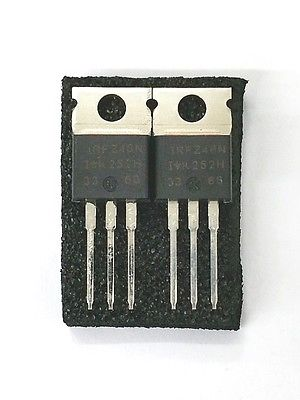 Lot of 2 IRF International Rectifier IRFZ48N 64A, 55V N Channel Power Mosfet - MarVac Electronics