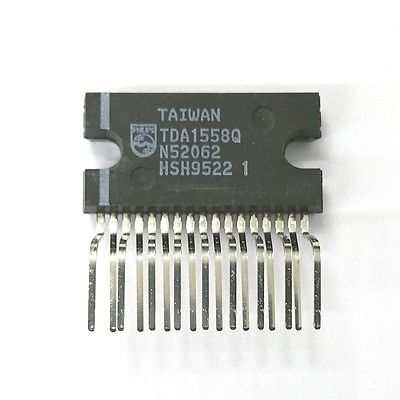 Original Philips TDA1558Q 2 x 22W or 4 x 11W Single Ended Audio Amp IC - MarVac Electronics