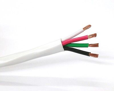 25' 4 Conductor 14 Gauge (41/30) OFC High Flex Speaker Cable ~ 4C 14AWG CMR - MarVac Electronics