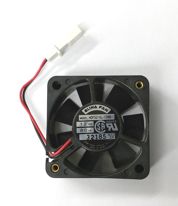 Elina Fan HDF5216L-12MB-1 52mm x 16mm 12V DC Brushless Cooling Fan 8.5 CFM