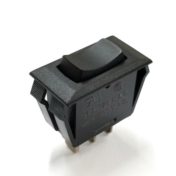CW Industries GRS-2013C-0000 SPDT (ON)-OFF-(ON) Momentary Rocker Switch