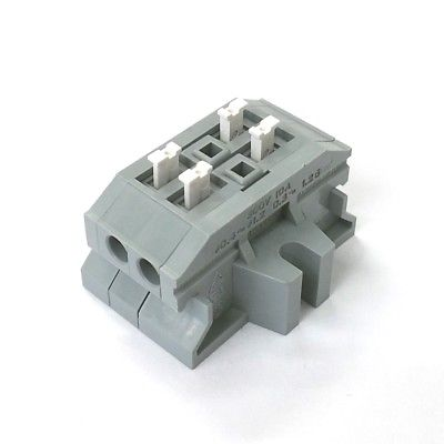 Sato Parts # ML-1700-A-2P 2 Position Screwless Terminal Block ~ 10A 300V