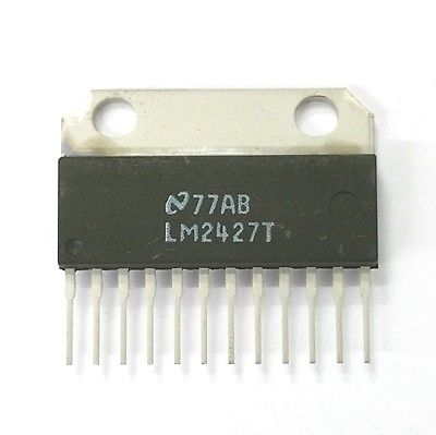 Original National LM2427T Triple 80MHZ CRT Driver - MarVac Electronics