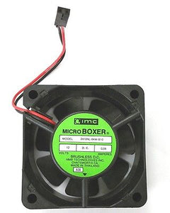 "NMB / IMC Boxer 2410NL-04W-B10 12V DC Cooling Fan 60mm x 25mm (2.4"" x 1.0"") - MarVac Electronics"