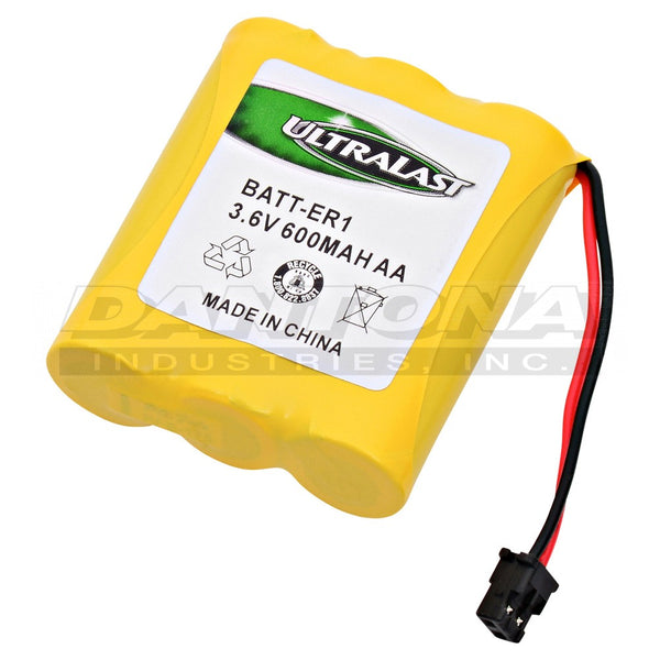 3.6V 600MaH NiCad Battery BATT-ER1
