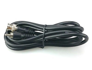6 Foot Marshall Video Runner BNC Male to RCA Male Video Patch Cable 75 Ohm