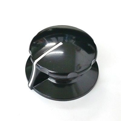 Sato Parts # K-2195-L 6mm Shaft Large Pointer Knob w/Indicator Line