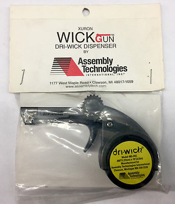 Assembly Technologies 482-WG2 Dri-Wick .050'' (1.27mm) x 15' Solder Wick Gun