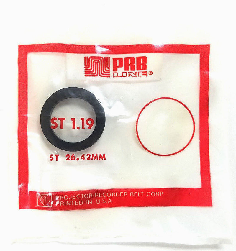 PRB ST1.19 Video Clutch or Idler Tire ~ ST26.42mm - MarVac Electronics