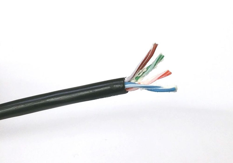 25' Length of Belden 7934A DataTuff® Waterblocked Cat 5E 4 Pair 24AWG Cable - MarVac Electronics