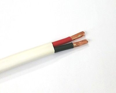 25' 10-2C-TTP, 2C 10AWG Tight Tube Plenum Audio Only Speaker Cable CL2P, CMP FT6 - MarVac Electronics