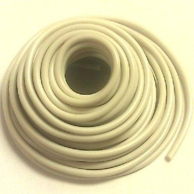 10' Length 10 Gauge 10AWG WHITE GPT PVC Stranded 50V Automotive Hook Up Wire