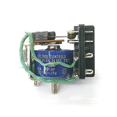 Deltrol 20072-82 24 Volt DC Coil 10 Amp 101U 3PDT General Purpose Relay - MarVac Electronics