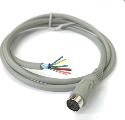 3' 6 pin Mini DIN Female Pigtail Cable (PS2 Keyboard Mouse) for DIY Projects - MarVac Electronics