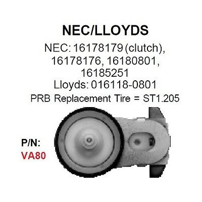 PRB VA80 VCR Idler For NEC & LLoyds VA-80 - MarVac Electronics