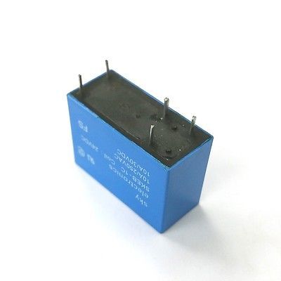 Sky SKEB-1C-24 SPDT 24V DC Coil PC Mount Relay 10A @ 250VAC, 30VDC Contacts - MarVac Electronics