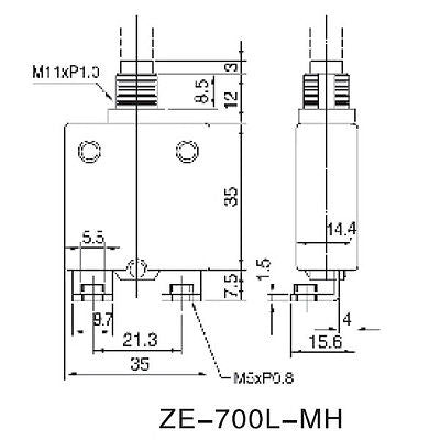 80 Amp Heavy Duty Pushbutton Circuit Breaker ~ Zing Ear ZE-700L-MH-80 80A - MarVac Electronics