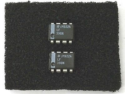 Lot of 2 National Semiconductor LF398N LF398 Monolithic Sample and Hold ICs - MarVac Electronics
