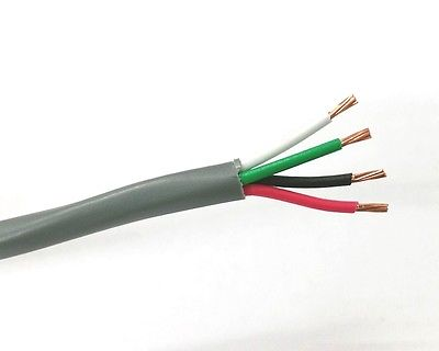 25' 4 Conductor 18 Gauge Unshielded Cable ~ 4C 18AWG CMR U1804 - MarVac Electronics
