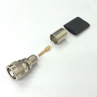 Amphenol 31-5679 RP TNC Plug w/Female Contact for 9913, 8214, 7810A, LMR400 - MarVac Electronics