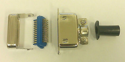 24 Pin Centronics Male Cable Mount Connector 57-30240 - MarVac Electronics