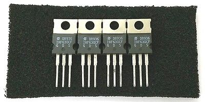 Lot of 4 National IRF630CF 8.5A 200V Power Mosfets IRF630 - MarVac Electronics