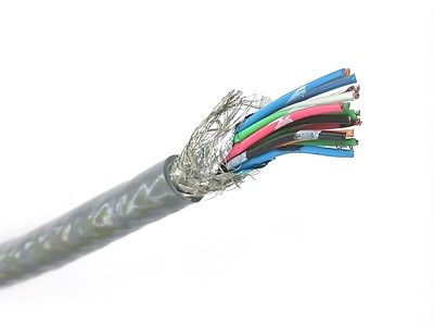 Belden 9936 15 Conductor 24 Gauge Low Capacitance Cable Per Foot ~ 15C 24AWG - MarVac Electronics