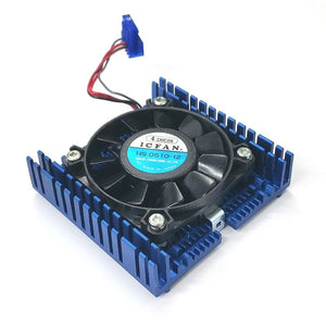 Shicoh HS 0510-12, 50mm x 10mm 12V DC Brushless Cooling Fan & CPU Heat Sink - MarVac Electronics