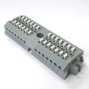 Sato Parts # ML-1700-A-14P 14 Position Screwless Terminal Block ~ 10A 300V