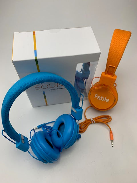 FBL1000-Orange Stereo Headphones