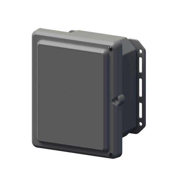 "Serpac I152HLGG Hinged Lid Cabinet IP67 Waterproof Enclosure 9.7"" x 8.2"" x 5.5"""