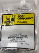 ECG1267 IC VCR Dropout Compensator IC for VCR, Replaces AN316