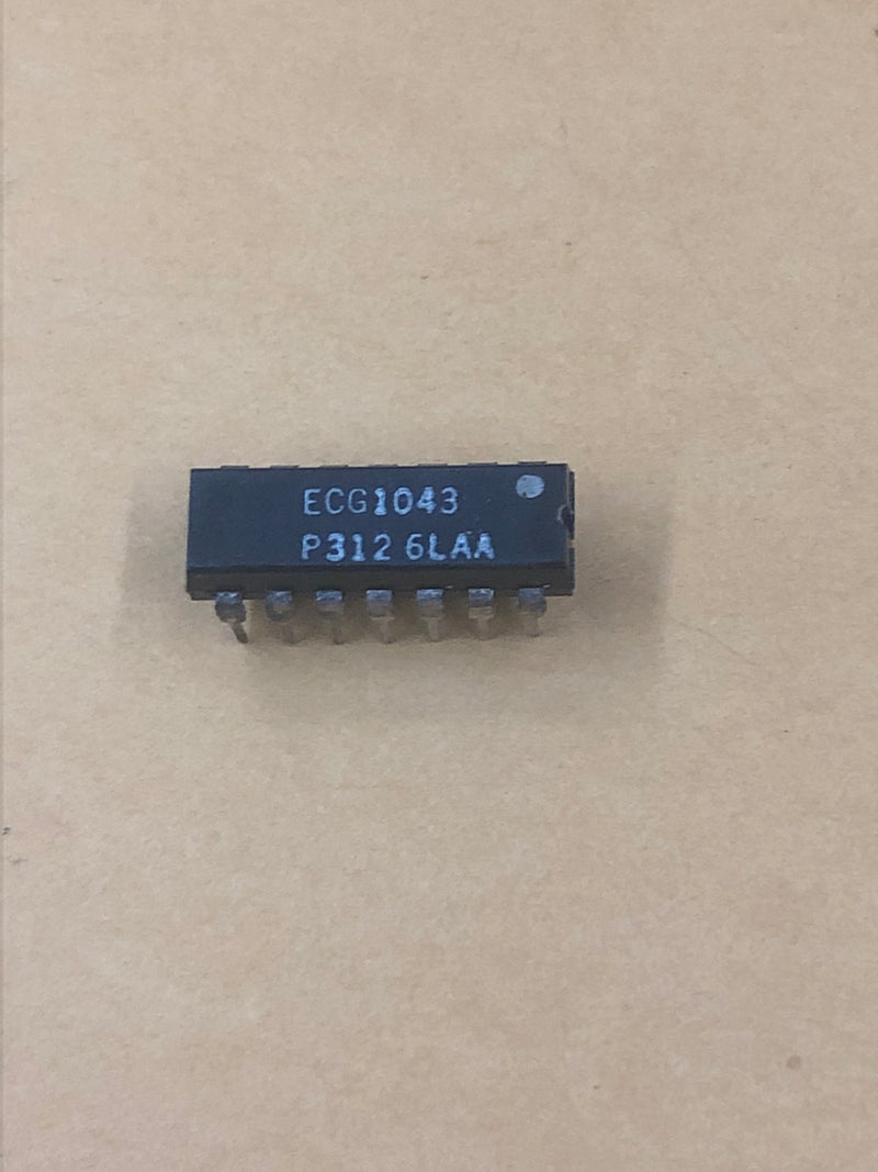 ECG1043 IC-Linear Audio Amp for Tape Recorder