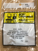 ECG1689 IC VCR HEAD AMP