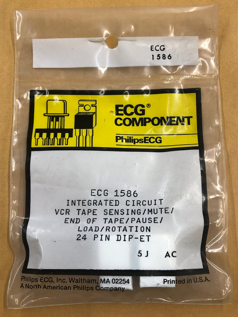 ECG1586 IC VCR TAPE SENSING MUTE ROTATION