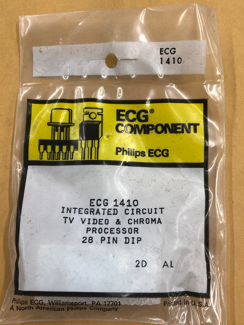 ECG1410 IC VIDEO SIG PROCESSOR