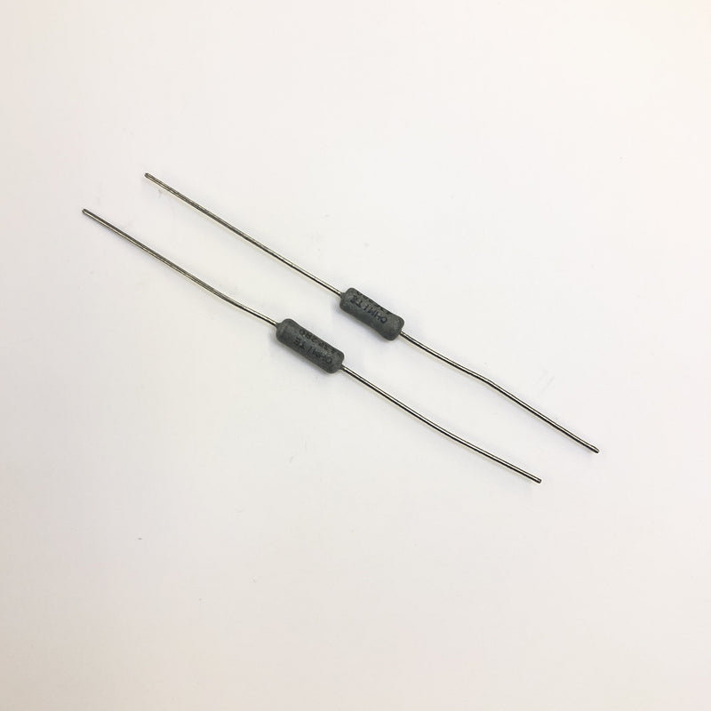 Lot of 2, Ohmite 43F3R0 3 Ohm 3 Watt 1% Wirewound Power Resistors 3W