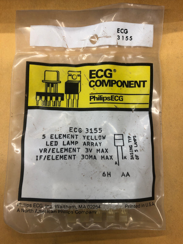 ECG3155 LED MULTI LAMP ARAY YELLW