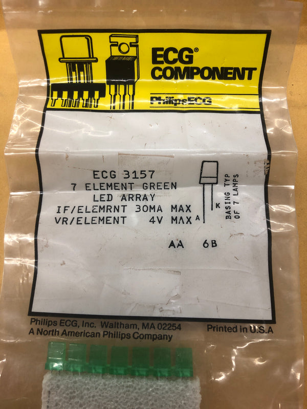 ECG3157 ELEMENT GREEN LED ARRAY
