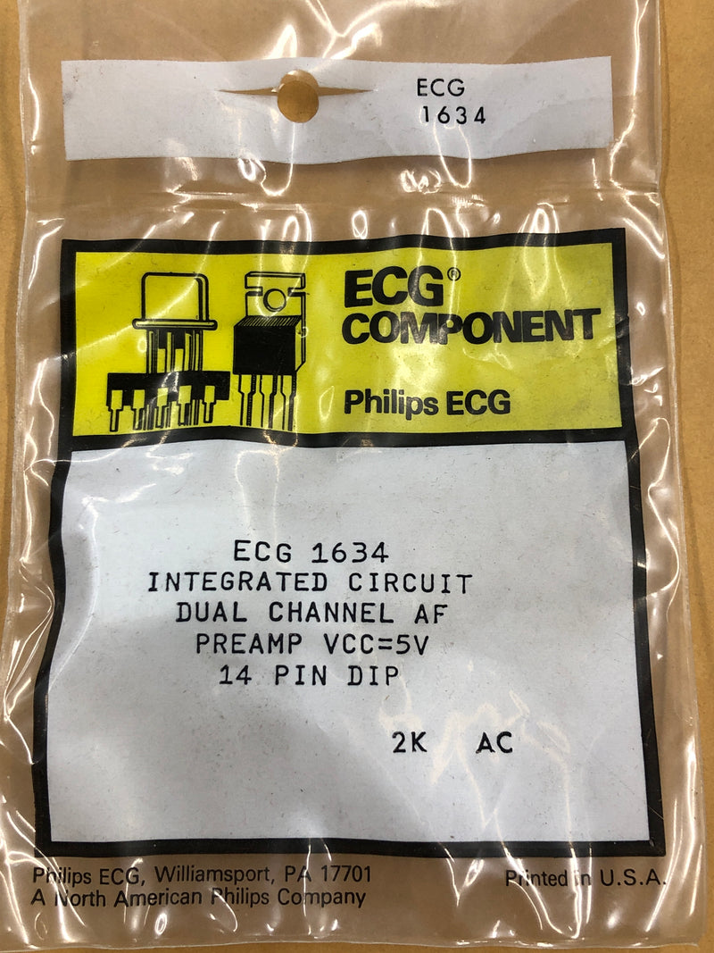 ECG1634 IC DUAL PREAMP