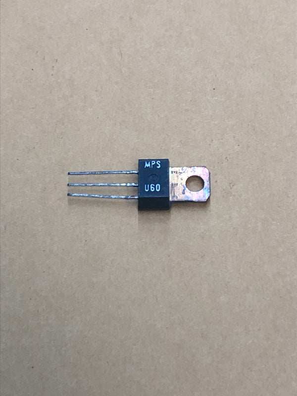Silicon complementary transistor MPSU60 (240)