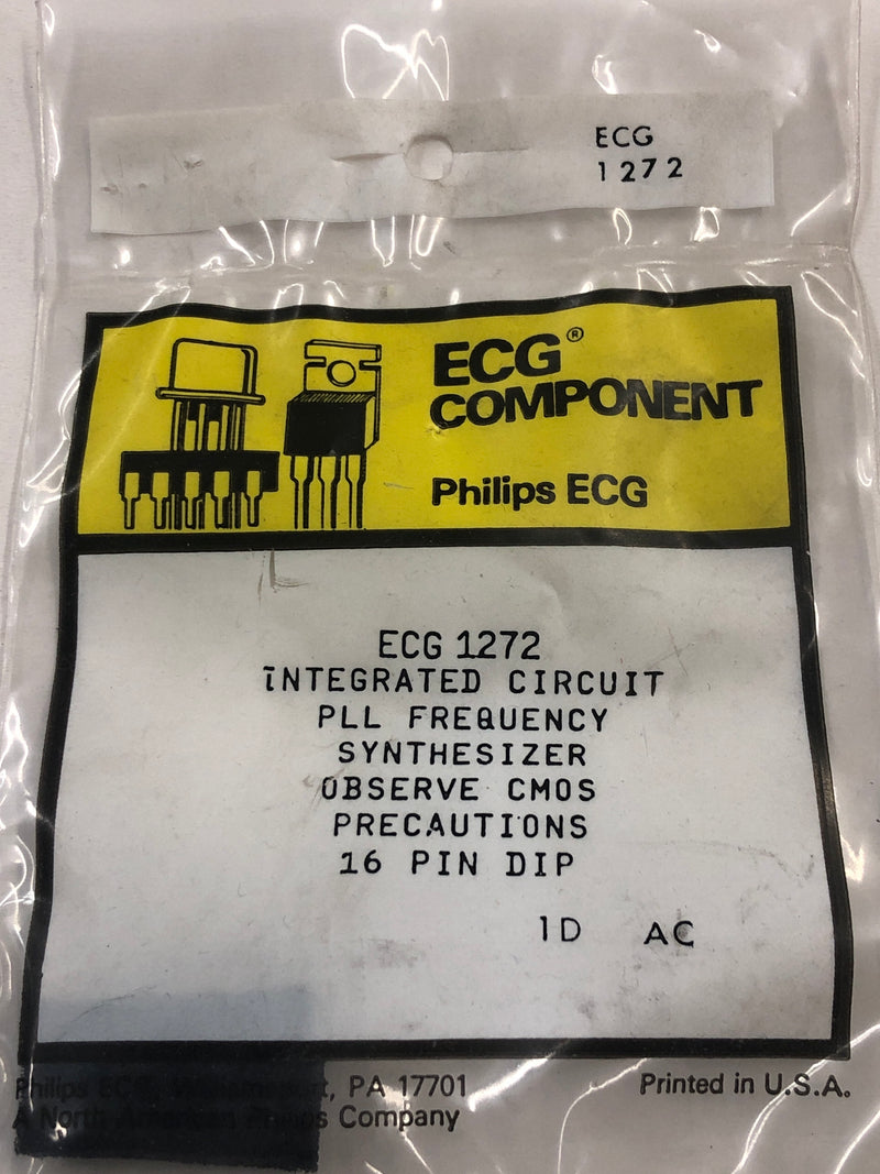 ECG1272 IC PLL Frequency Synthesizer
